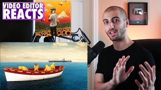 Video Editor's Reaction to Tyler The Creator - SEE YOU AGAIN (Music Video)