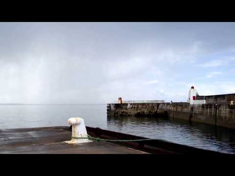 Burghead Harbour -Time Lapse X8
