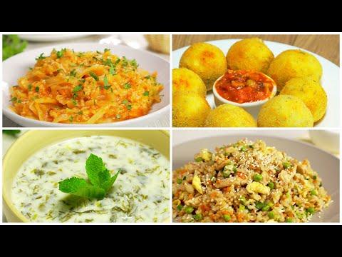 4 вкусных блюда ИЗ РИСА без мяса и рыбы. Рекомендуем! Рецепты от Всегда Вкусно!