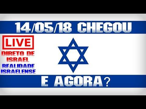ISRAEL 14/05/2018 CHEGOU O DIA [Realidade Israelense]