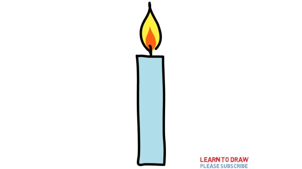 It's just a photo of Tactueux Drawing Of A Candle