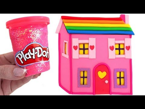 Thumbnail: Learn Colors with Play Doh Making Colorful Baby Doll House Surprise Toys