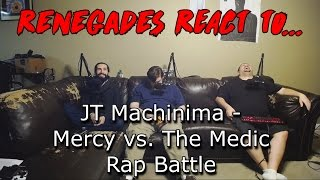 Renegades React to... JT Machinima - Mercy vs. The Medic Rap Battle