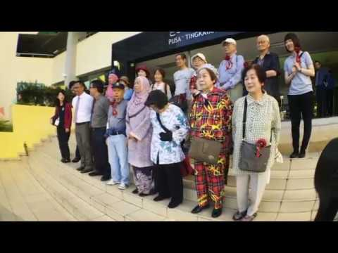 Visit from Retired Professionals of Osaka, Japan to PTEM