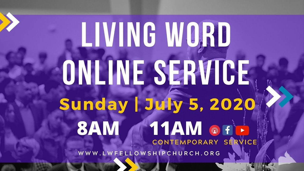 Living Word Christmas Show 2020 Living Word Online Service Dr Paul Cannings July5,2020   YouTube