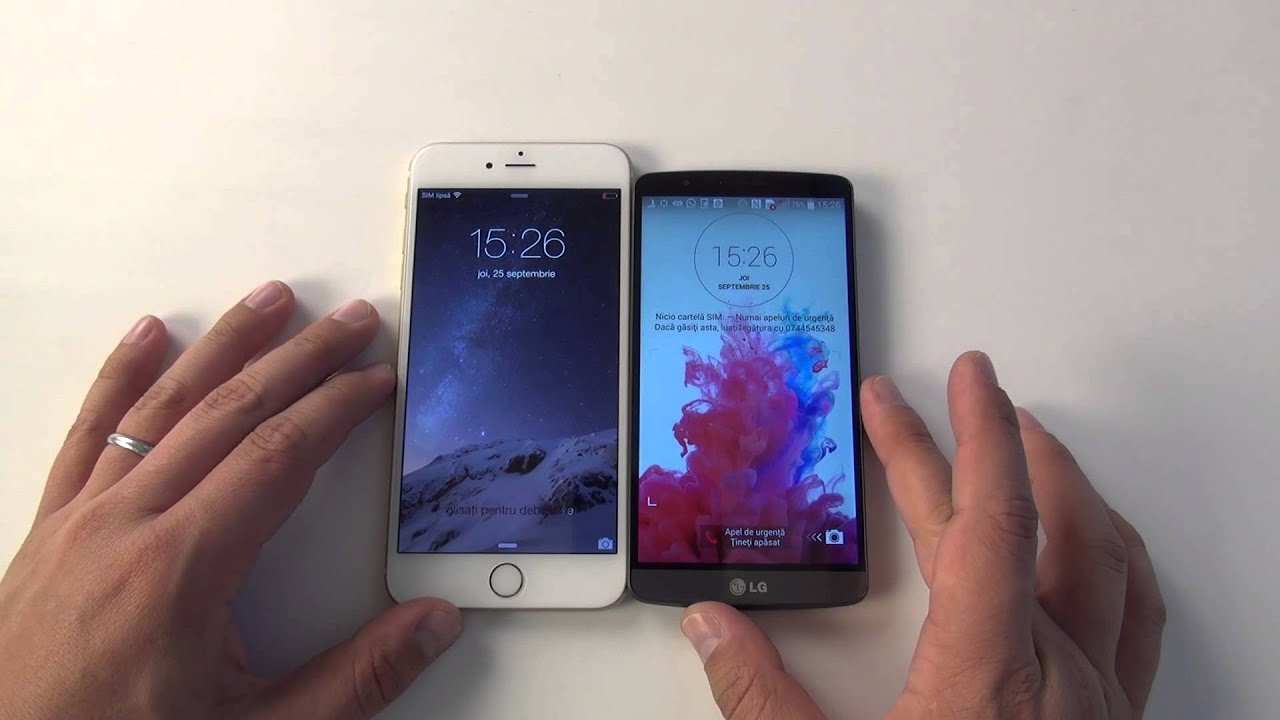 Apple iPhone 6 Plus unboxing, comparativ & review (www.buhnici.ro)
