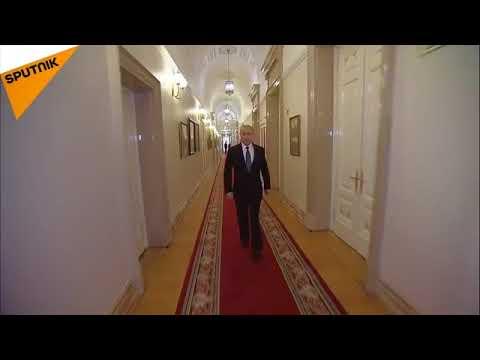L itinéraire que suit poutine de son bureau au kremlin youtube