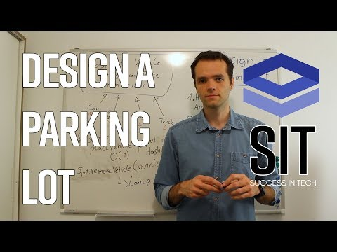 System Design Interview Question: DESIGN A PARKING LOT - asked at Google, Facebook, Amazon