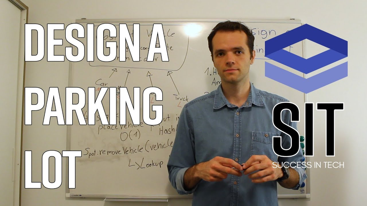 System Design Interview Question Design A Parking Lot Asked At Google Facebook Youtube