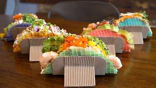 I Tried Instagram Rainbow Sushi Tacos