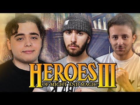 Vidéo d'Alderiate : [FR] ALDERIATE - HEROES III - KAMETO & MELON