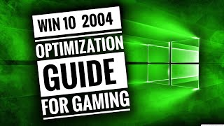 How To SPEED UP Windows 10 (VERSION 2004)