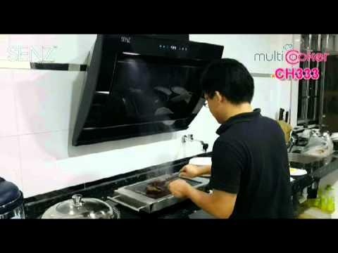 SENZ CH333 Twin Turbo Motor Cooker Hood -MultiHood