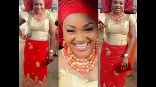 Check Out Beautiful Aso Ebi Styles With George Igbo Attire