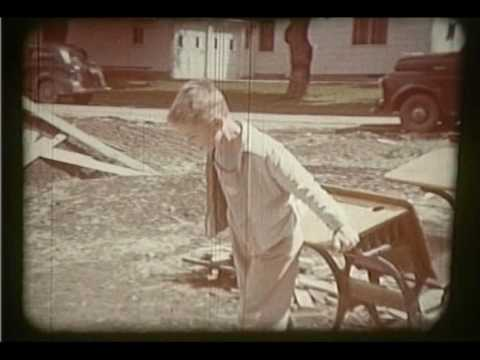 1949 Raw Film of Sheldon Christian School with Bill Wagenaar Narration