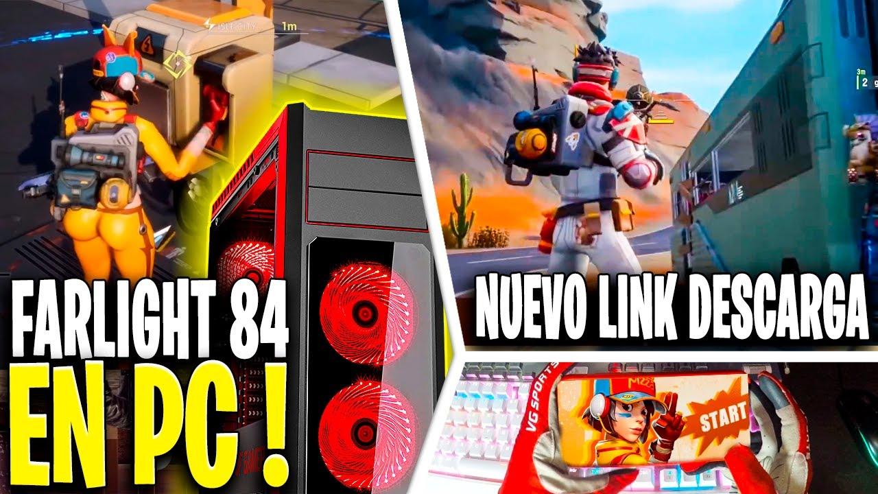 FARLIGHT 84 en PC ! + NUEVA DESCARGA y VINCULACIÓN de CUENTA ! GAMEPLAY FUNCIONAL ANDROID / iOS / PC