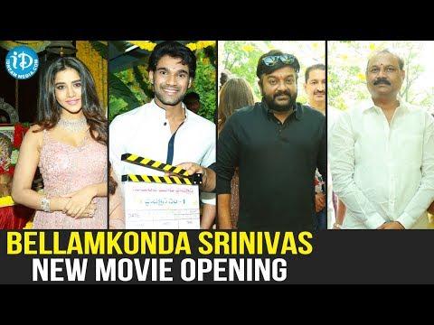 Actor Bellamkonda Srinivas & Actress Nabha Natesh New Movie Opening Ceremony Full Event