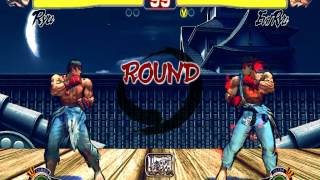SFII Champion Edition Ryu Stage - Ultra Street Fighter IV