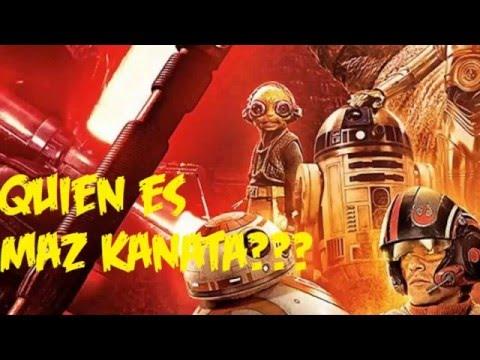 ¿Quién es Maz Kanata? STAR WARS | Gonzax9