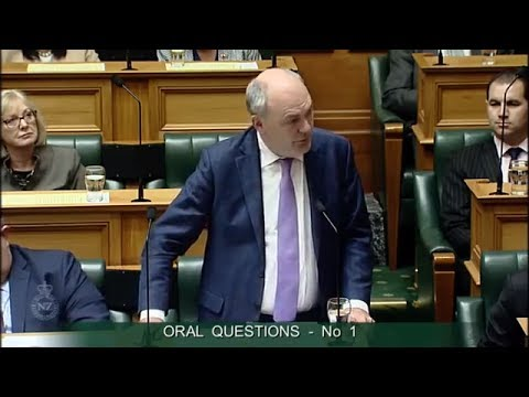 Question 1 - Chris Bishop to the Minister of Finance