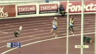 Suomi-Ruotsi yleisurheilumaaottelu 2010: M 5000 metriä