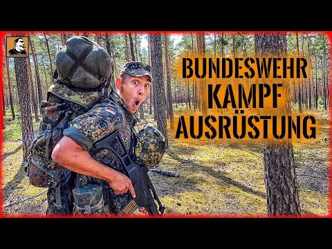 ÜBERLEBEN mit Bundeswehr AUSRÜSTUNG | Wie gut ist sie wirklich? | BIWAK im WALD | Survival Mattin