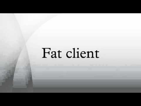 what is a fat client