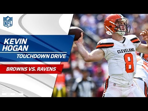 Kevin Hogan Leads Cleveland to a Second-Quarter TD! | Browns vs. Ravens | NFL Wk 2 Highlights
