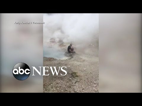 Tourist ticketed for getting too close to Old Faithful