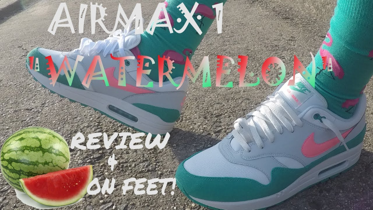 air max 1 watermelon on foot nz