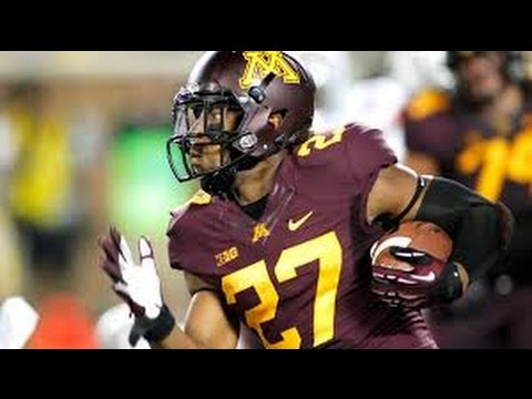 David Cobb // Minnesota RB 2014 Highlight Video HD