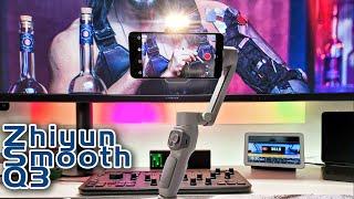 Zhiyun Smooth Q3 Smartphone Gimbal - Erstes Gimbal mit Licht Mein erster Eindruck