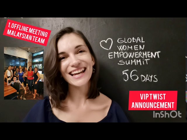 Global Women Empowerment summit 56 days to go