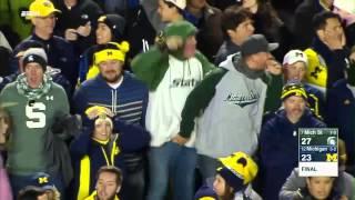 Michigan State wins it on final play