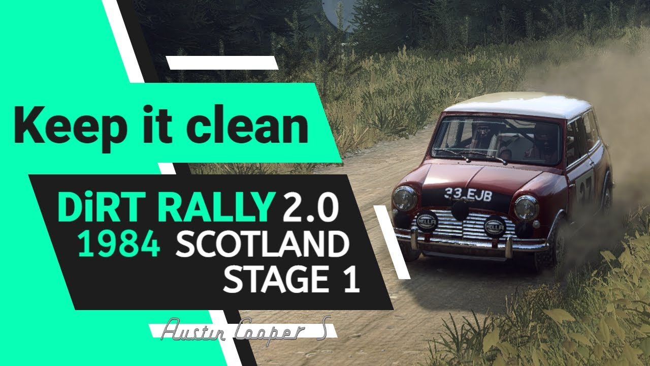 DIRT Rally 2.0 Colin McRae 1984 Scotland Mini Cooper S