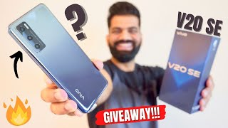 vivo V20 SE Unboxing & First Look - Amazing Looks & Camera | GIVEAWAY