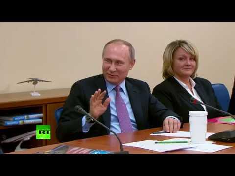 Путину привезли огурцы из Ярославской области