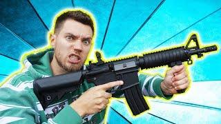 Diese SOFTAIR schießt ULTRA SCHNELL 😳! - Lancer Tactical M4 Unboxing und Test schießen! (elektrisch)