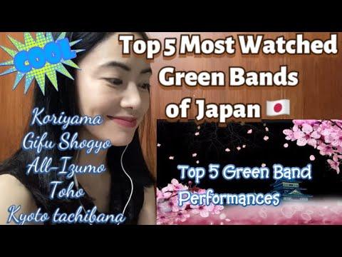 Top 5 Most Entertaining Green Bands of Japan - Kyoto Tachibana SHS band fan reaction