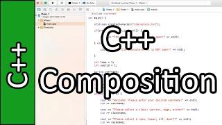 Composition - C++ Programming Tutorial #39 (PC / Mac 2015)