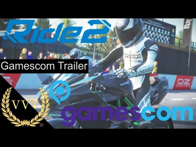 Ride 2 Gamescom Trailer