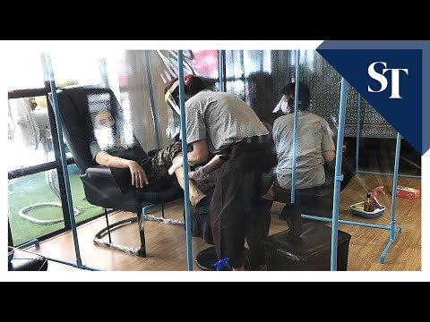 Thailand's Massage Parlours Reopen | The Straits Times