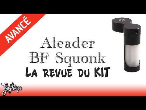 Revue De La Bouteille Squonk Bottom Feeder Aleader BF Pour Mod Mécanique