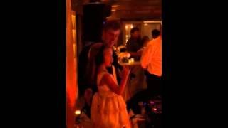 Little DJ Kennedy taking over the reception #mooreloveatlast