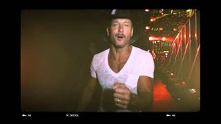 """Tim McGraw """"So good to be home!"""""""