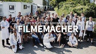 AUFTRÄGE & JOBS ALS FILMEMACHER / KAMERAMANN BEKOMMEN - in der Filmbranche arbeiten | TALK [SILAS F]