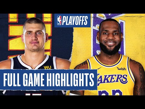 NUGGETS at LAKERS | FULL GAME HIGHLIGHTS | September 26, 2020