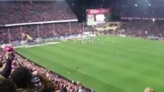 Vicente Calderón gol de Koke . Atlético valencia