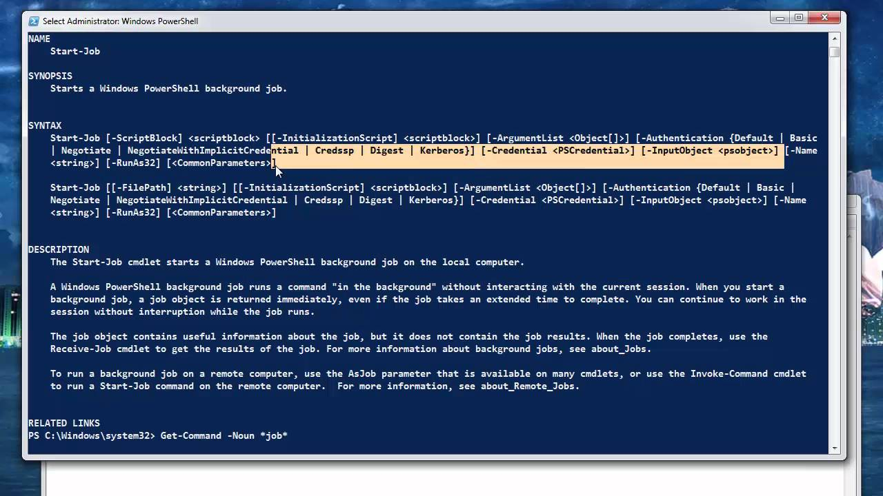 Powershell Cmdlet Syntax And Symbols Part 2