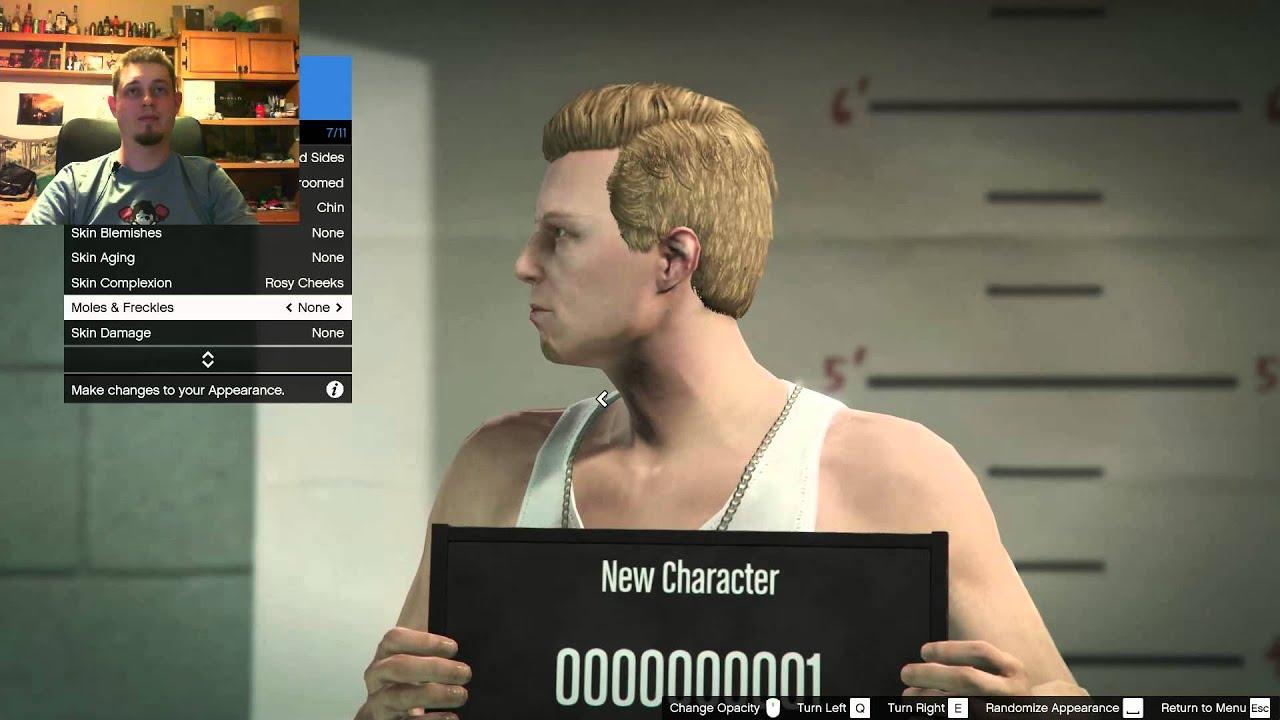 Gta  Online Karakter Krealas